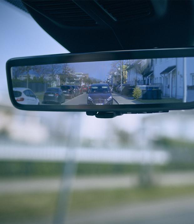 A Ford 'okostükrével' az autósok jól láthatják maguk mögött a kerékpárosokat, a gyalogosokat és a többi járművet