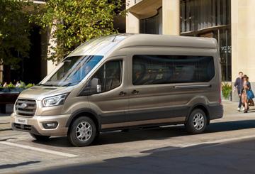 A Ford Transit immár takarékos és strapabíró tízfokozatú automata sebességváltóval is kapható