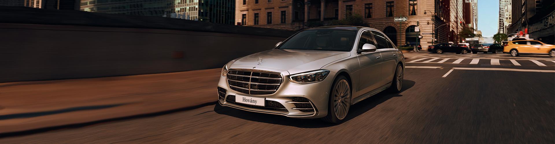 Az új Mercedes-Benz S-osztály.